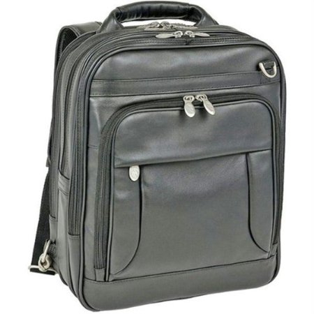 Top Grain Napa Leather - mckleinusa lincoln park 41655 i series full grain cashmere napa leather three-way computer briefpack (black)
