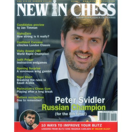 New in Chess Magazine 2018/1 : Read by Club Players in 116 Countries