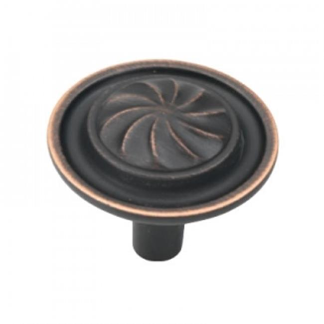 Hickory Hardware P3461-VB 1. 25 inch Roma Vintage Bronze Cabinet Knob
