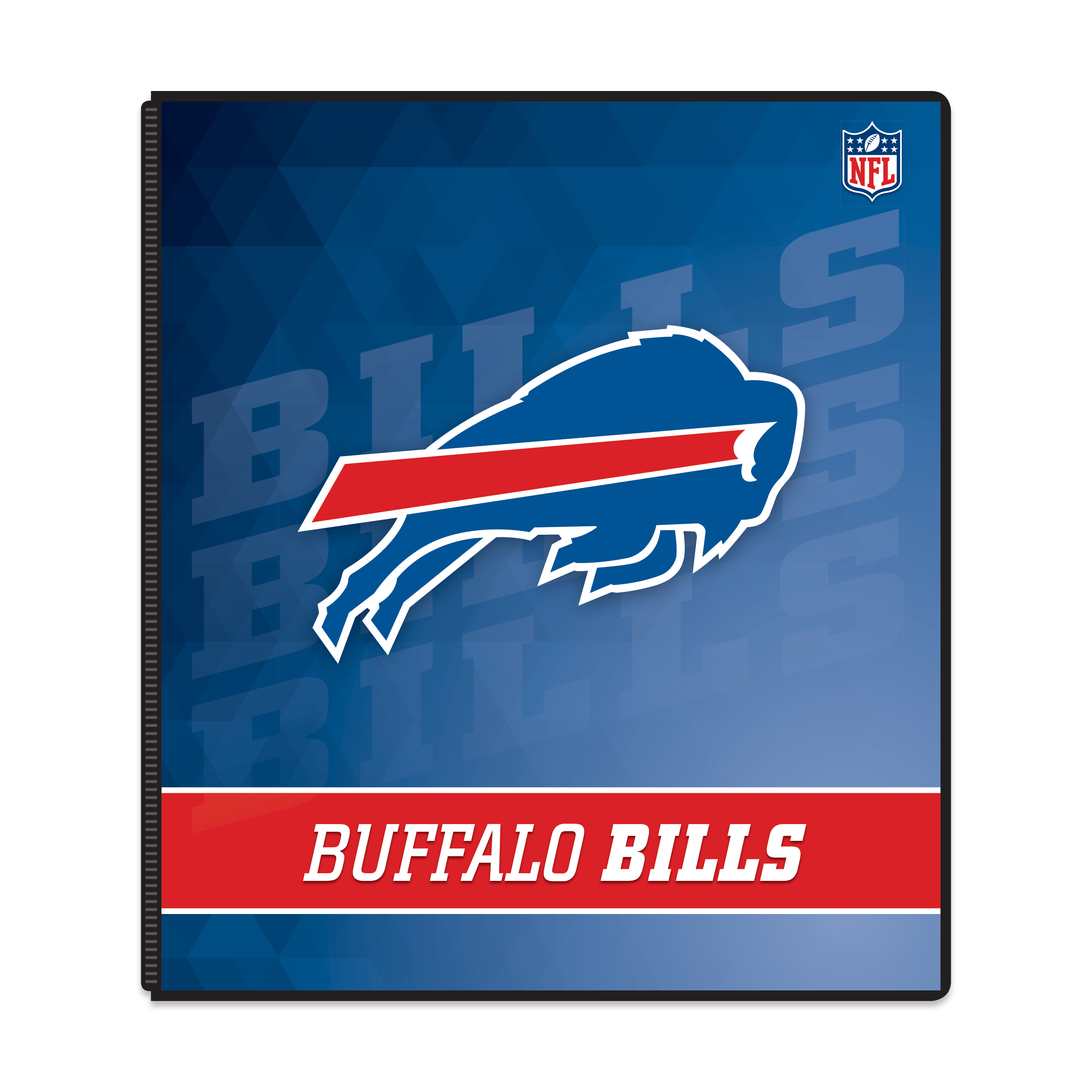 3-ring Binder Buffalo Bills