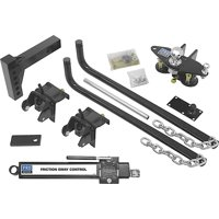 Pro Series 49903 Round Bar Weight Distribution Hitch Kit with Sway Control