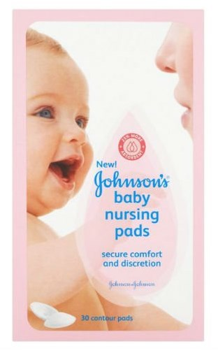 Johnson's Nursing Pads, Contour, 30 Disposable Pads (Pack of 8) by Johnson%27s