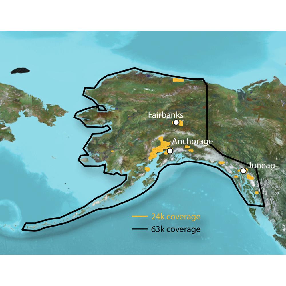 Garmin Topo Alaska Enhanced Maps - Microsd Card
