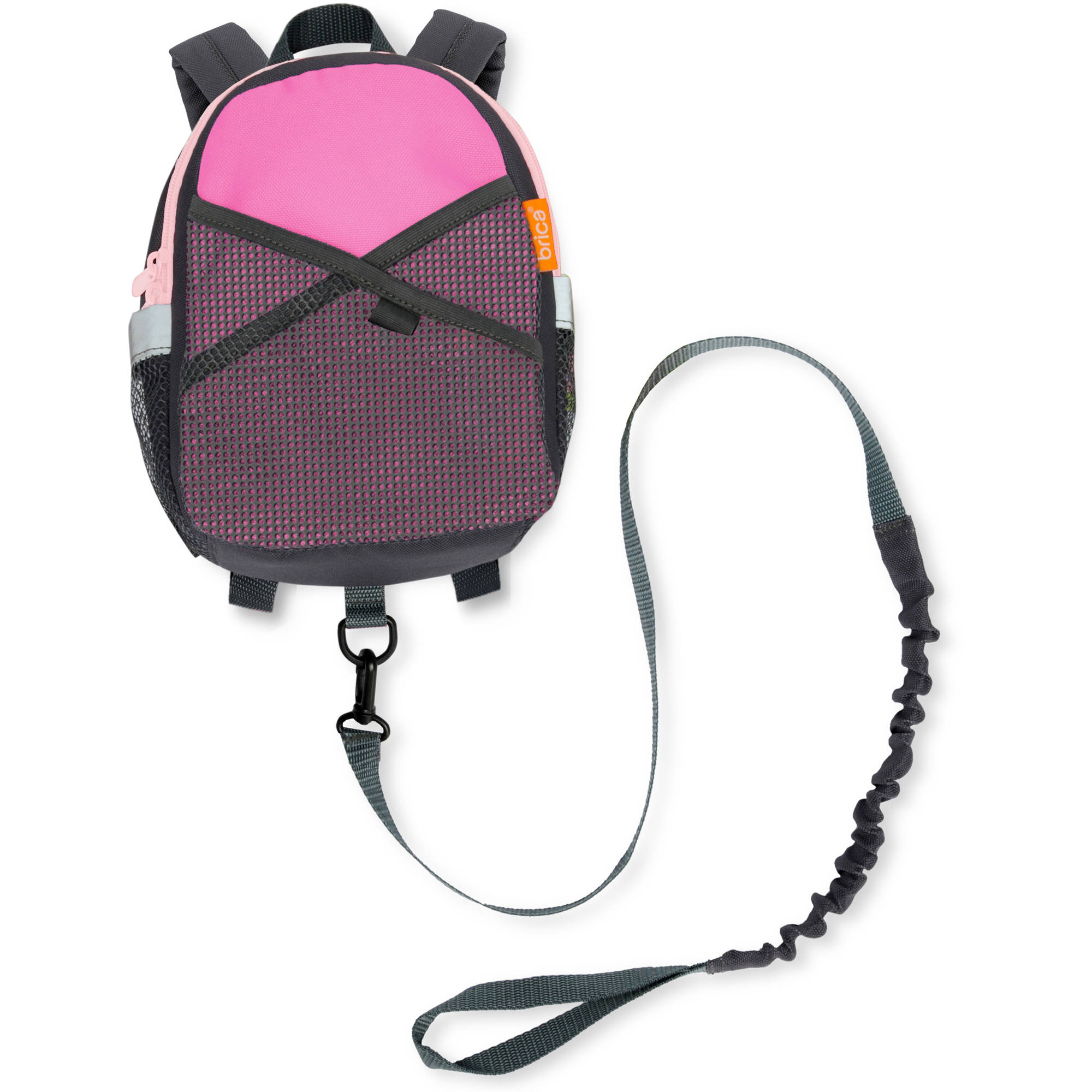 BRICA By-My-Side Safety Harness Backpack, Pink