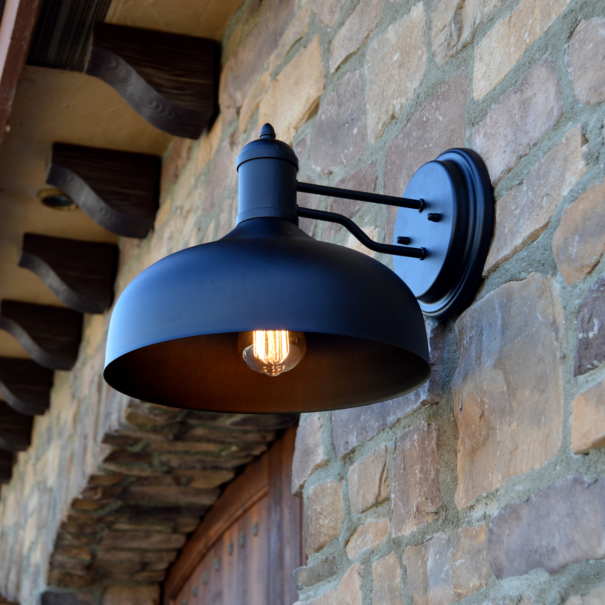 1 Light Outdoor Wall Mounted Lighting