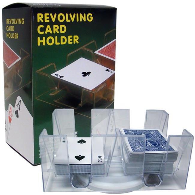 Brybelly 6 Deck Rotating-Revolving Card Tray GPLA-102