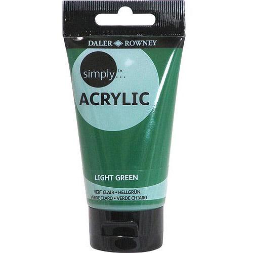 Simply Acrylic 75ml Paint Tube, 6-pack