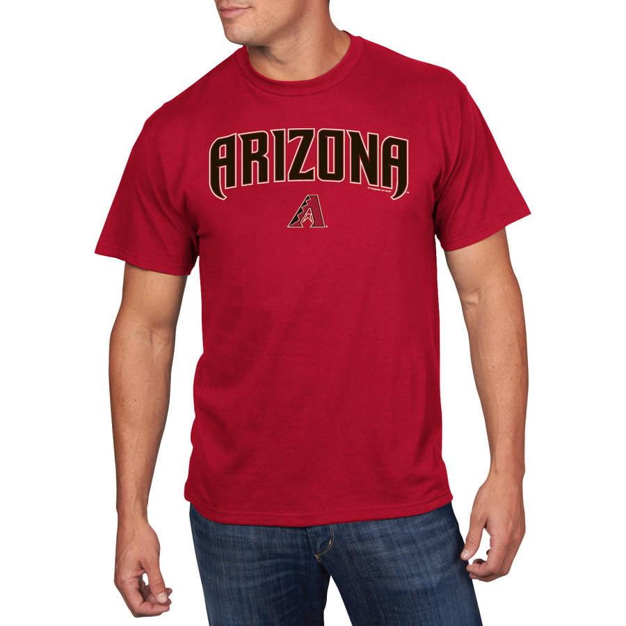 MLB - Big Mens Arizona Diamondbacks Short Sleeve Team Tee