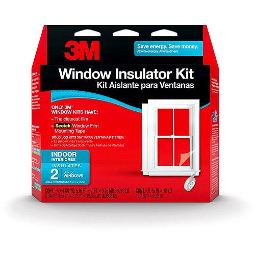 3M Outdoor Window Insulator Kit, 2 Window