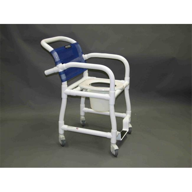 Anthros PVC Products N16PBBR-C00-CXXN 16 in. Seat Width Static Arm Chair with No Casters, Pail