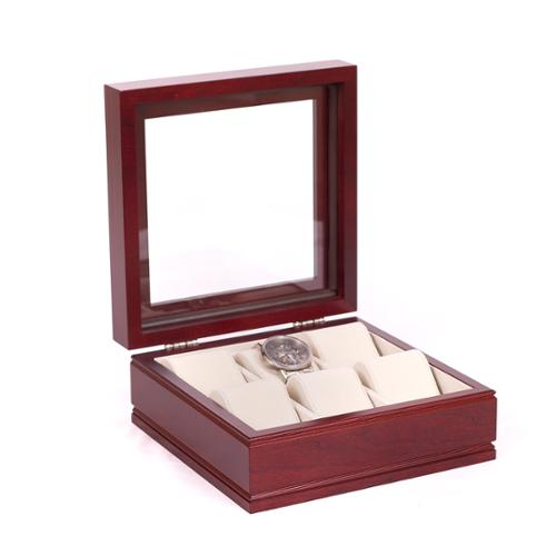 American Chest Company The Lieutenant Rich Mahogany Watch Storage Chest