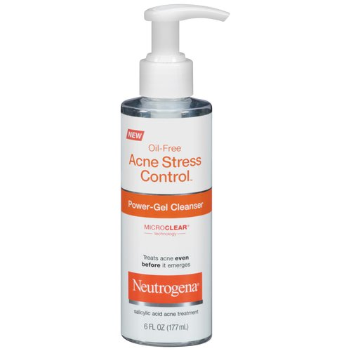 Neutrogena Oil-Free Acne Stress Control/Power-Gel Cleanser, 6 oz