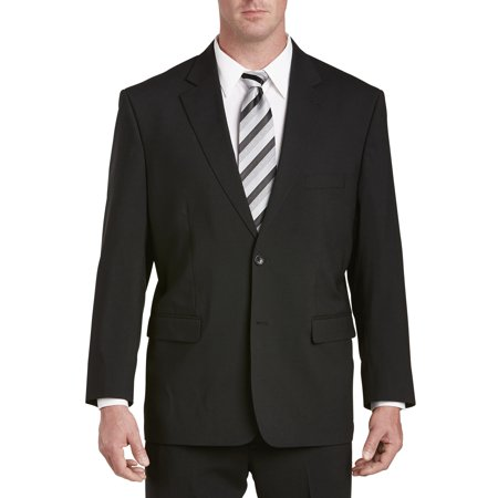 Men's Big & Tall Gold Series Perfect Fit Jacket-Relaxer Suit Jacket (Regular/Short)