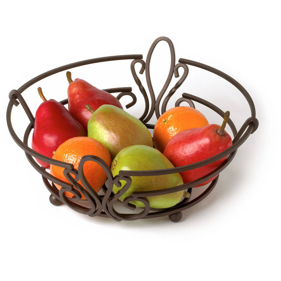Spectrum Patrice Fruit Bowl, Bronze