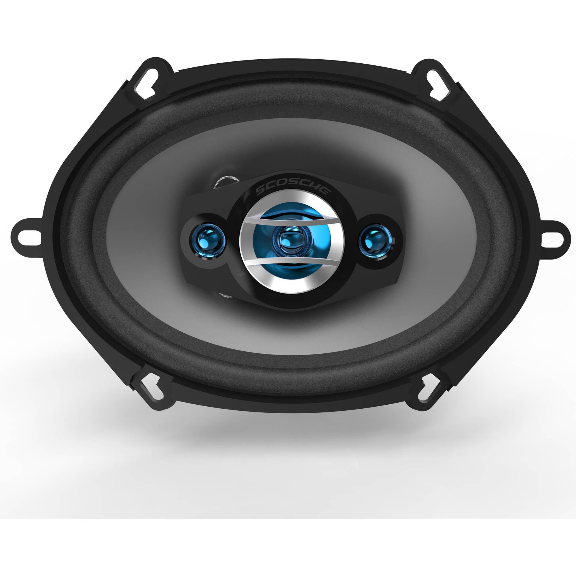 Scosche 5x7/6x8 4-Way Speaker Set