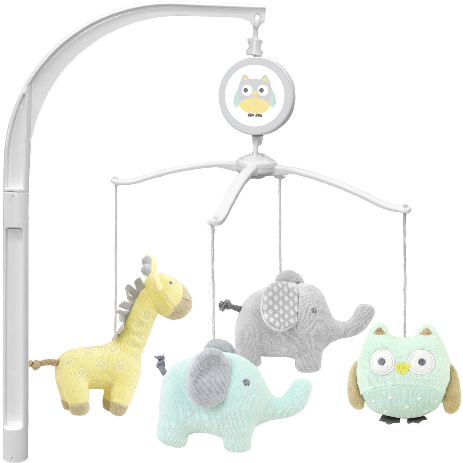 garanimals animal crackers musical crib mobile  walmartcom -