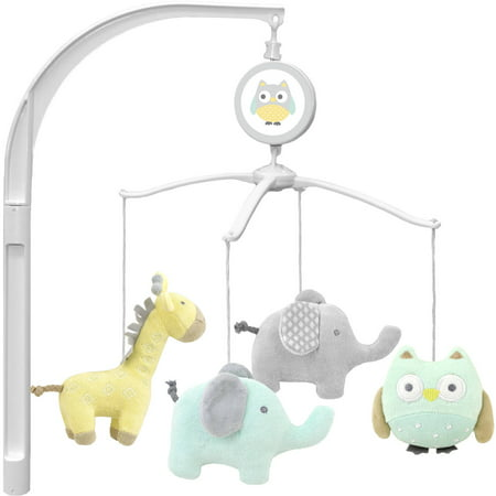 garanimals animal crackers musical crib mobile. Black Bedroom Furniture Sets. Home Design Ideas