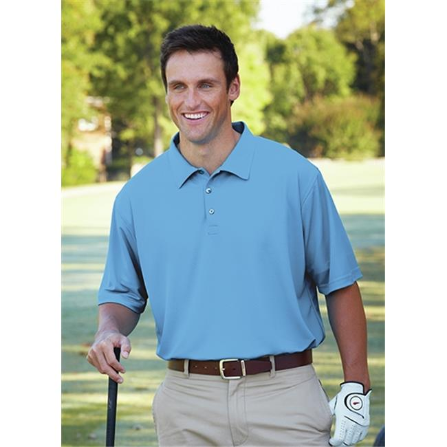 Bermuda Sands 721 Mens Breeze Performance Polo - Bimini Blue, Small