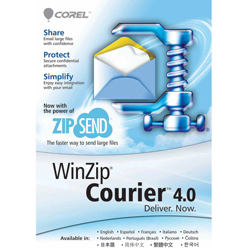Corel WinZip Courier 4 ML