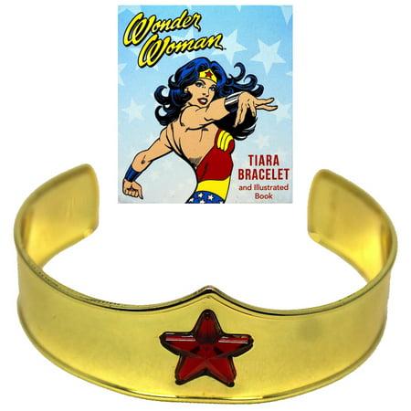 Wonder Woman's Tiara Bracelet Deluxe Mega Kit Miniature Editions 2.5