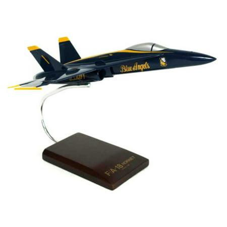 (Daron Worldwide F/A-18A Hornet Blue Angels 1/48 Model Airplane)
