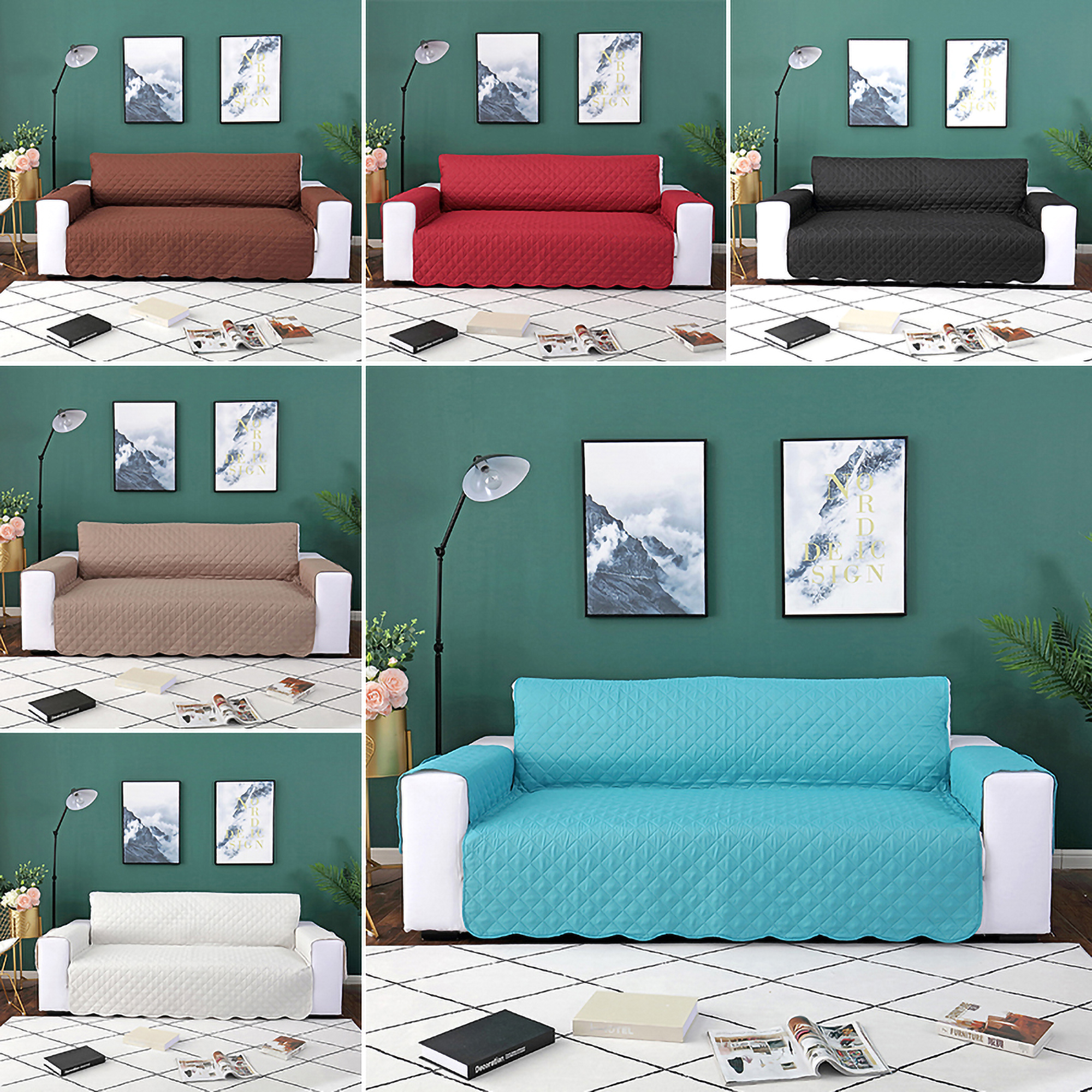 Plain Sofa Kissenbezug Dekokissen Sham Decor Kissenbezug Cover 50 x 50cm