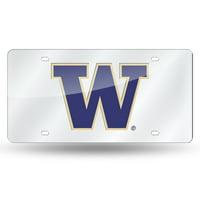 Washington Huskies NCAA Laser Cut License Plate Tag