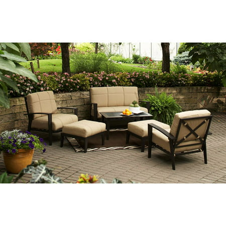 Home Trends 6pc Urban Haven Ii Patio Set. Home Trends 6pc Urban Haven Ii Patio Set   Walmart com