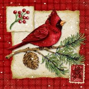 3 pack cardinal christmas paper luncheon napkins 65 in 16ct - Christmas Napkins
