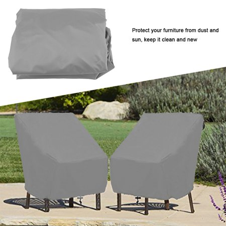 Rdeghly Waterproof Dust-proof Furniture Chair Sofa Cover Protection Garden Patio Outdoor, Sofa Protection, Waterproof Furniture Cover - image 1 of 8