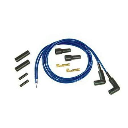 Thundersport Blue 5mm Spark Plug Wire Kit,for Harley Davidson,by Accel