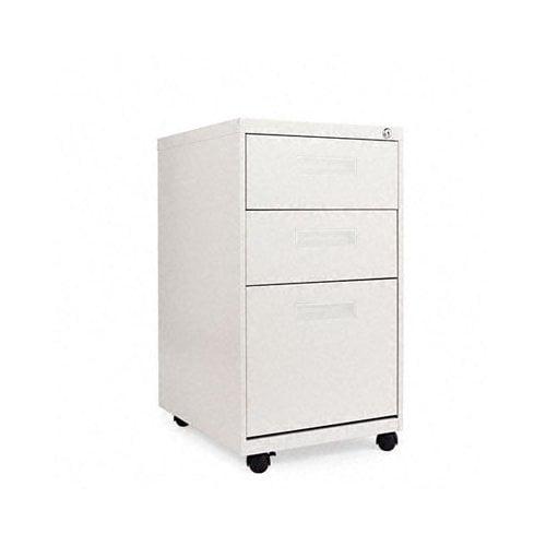 Alera 19.75'' Three-Drawer Mobile Pedestal File