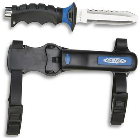 Tilos Diver Blunt Tip Knife (Black)