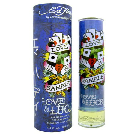 Ed Hardy Love & Luck for Men 3.4 oz 100 ml EDT (Love And Luck Ed Hardy Gift Set)