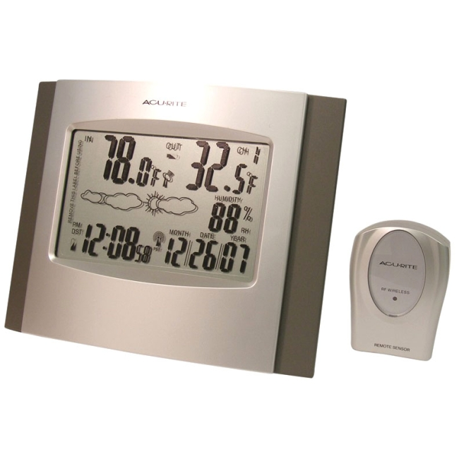 Acurite Wireless Weather Station W/atomix Clock
