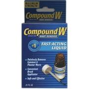 Premier Wart Remover Liquid, Maximum Strength 0.5 oz (Pack of 2)