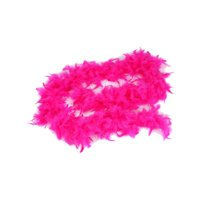 "Large Neon Pink Fuchsia 72"" Costume Accessory Feather Boa"