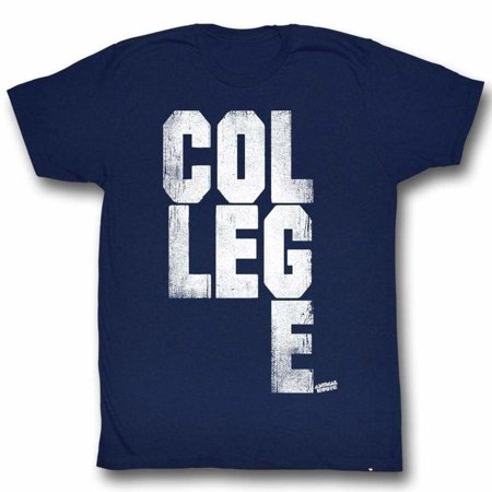 Animal House Movies College Scrabble Adult Short Sleeve T Shirt - Oakley College Halloween