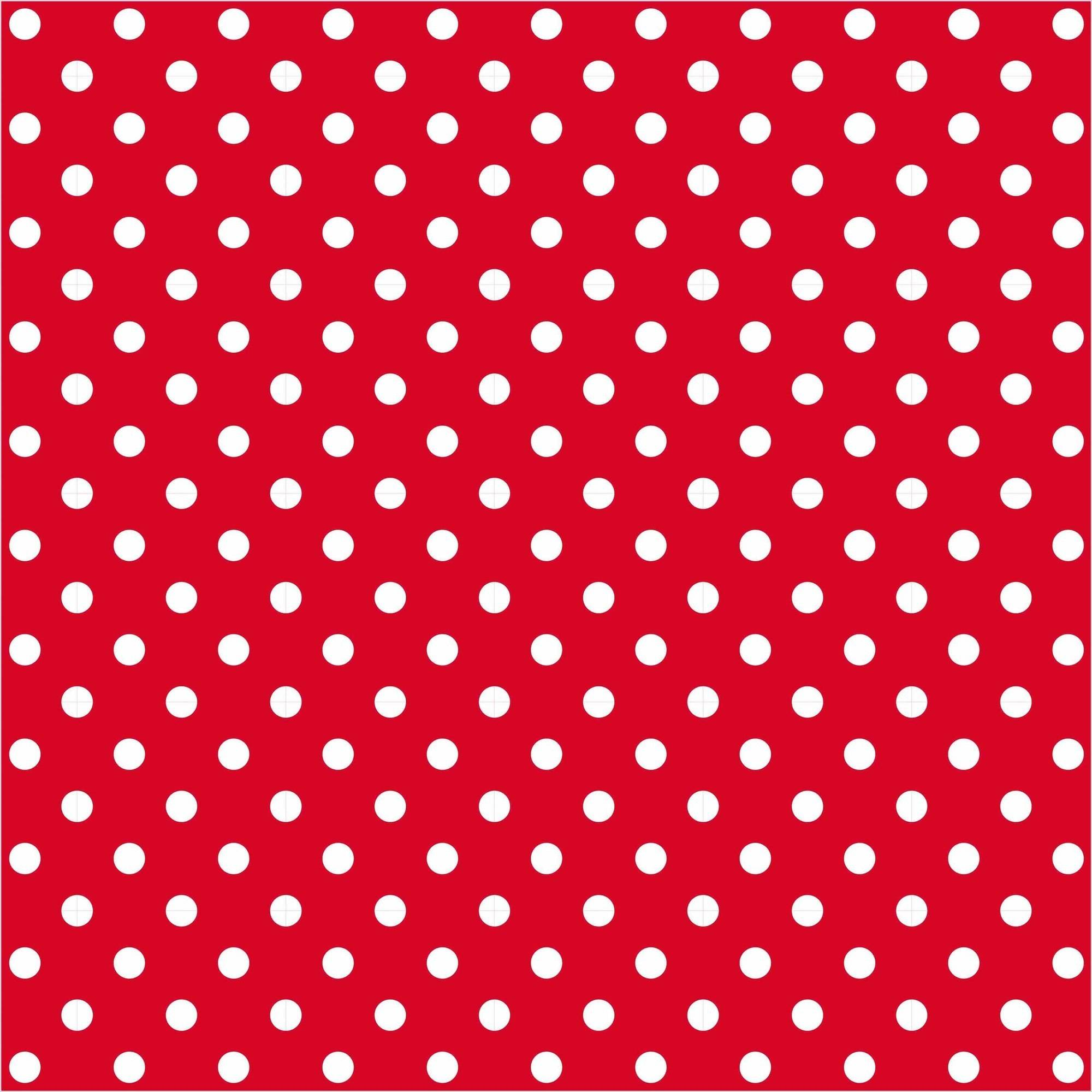 "Happy Dots Fine Quilting Cotton, 44"" By The Yard"