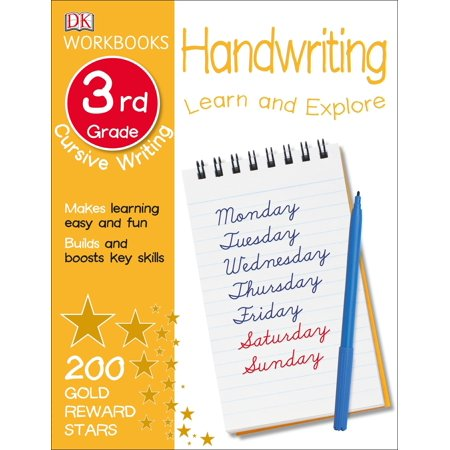 DK Workbooks: Handwriting: Cursive, Third - Third Grade Halloween Jokes