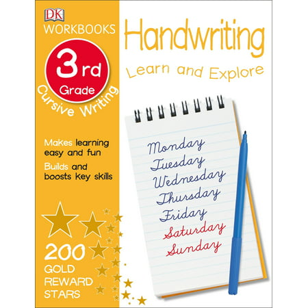 DK Workbooks: Handwriting: Cursive, Third Grade : Learn and Explore