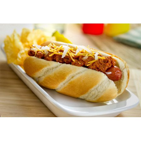 Vanee 390I-VAN Chili Hot Dog Sauce With Meat
