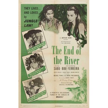 Posterazzi MOVGB85563 The End of the River Movie Poster - 27 x 40 in.