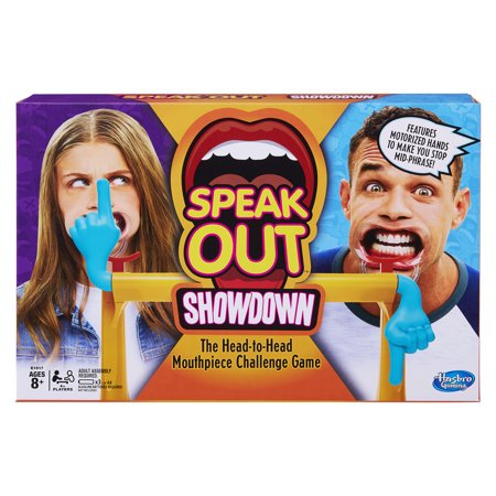 Speak Out Showdown, by Hasbro - Pue Face