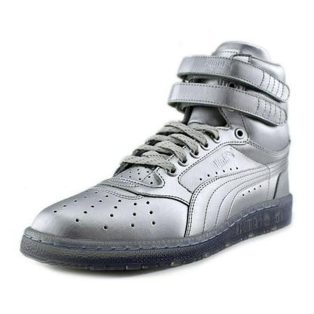 Puma Sky II Hi Platinum Round Toe Synthetic Sneakers - Walmart.com adfb7516f
