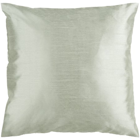 """Surya HH-SLX-1818 Solid Luxe 18"""" Wide Square Solid Pattern Polyester Accent Pill"""