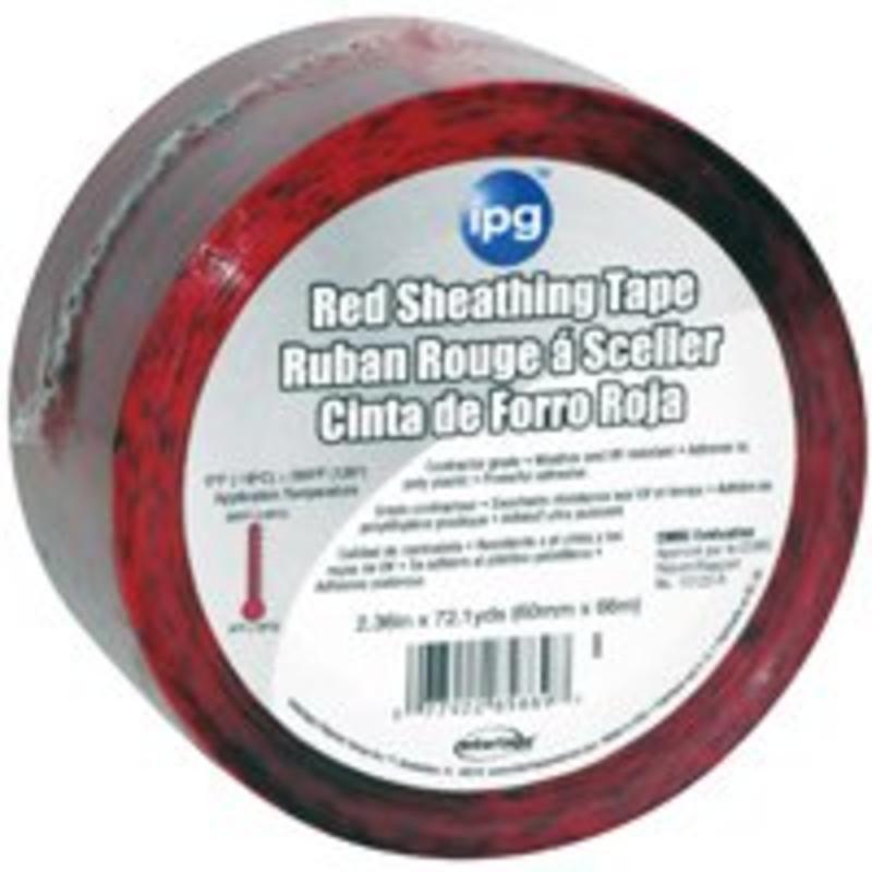 "2-1/2"" X 72 Yard Red Sheathing Tape"