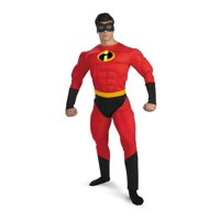 MR. INCREDIBLE MUSCLE ADULT COSTUME-42-46