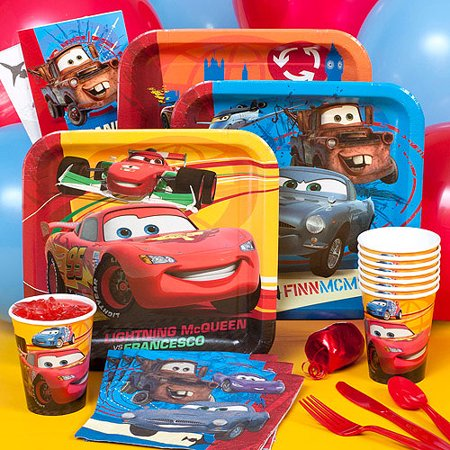 disney cars 2 party pack for 8 walmart com