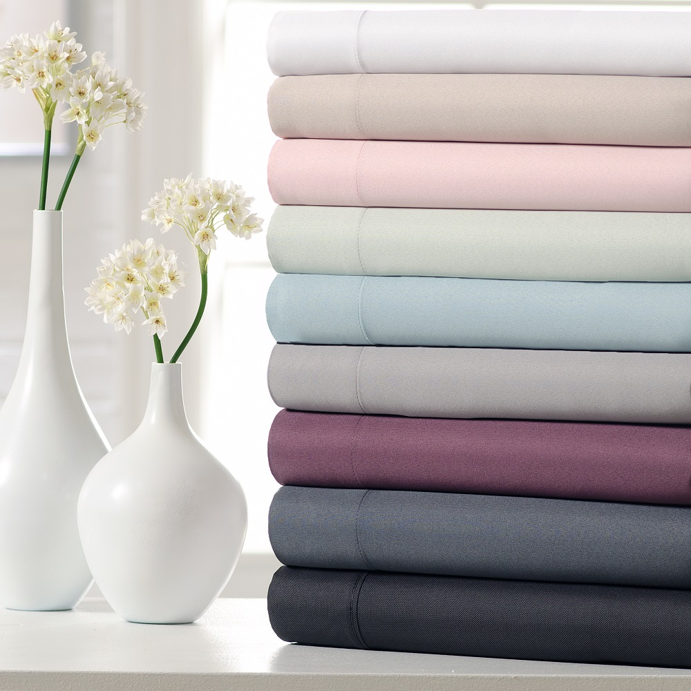 Microfiber Peachy Soft 4-Piece Sheet Set